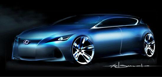 Спортен хечбек от Lexus