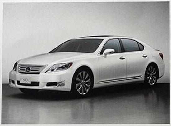 Lexus модернизира LS