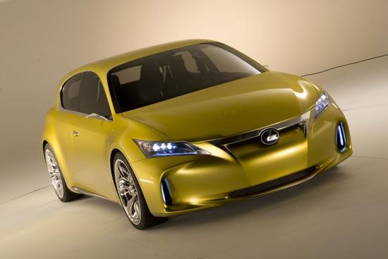 Lexus зарибява по новият концепт