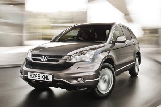 Honda разкри обновения CR-V