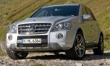 Снимки: Mercedes отбелязва 10 години от появата на ML с нова ексклузивна версия