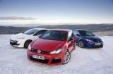 Снимки: Кой стои на върха? VW Golf R, Ford Focus RS или Renault Megane 250