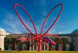 Снимки: Alfa Romeo разкри уникална скулптура в Гудууд