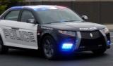 Снимки: Новата полицейска кола - Carbon E7