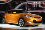 Снимки: Детройт 2011: Необичайното купе Hyundai Veloster