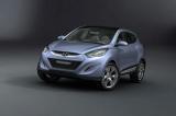 Снимки: Преди Женева: Показаха концепецията Hyundai HED 6 IX-Onic
