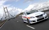 Снимки: Lexus IS-F - вече като полицейски автомобил!